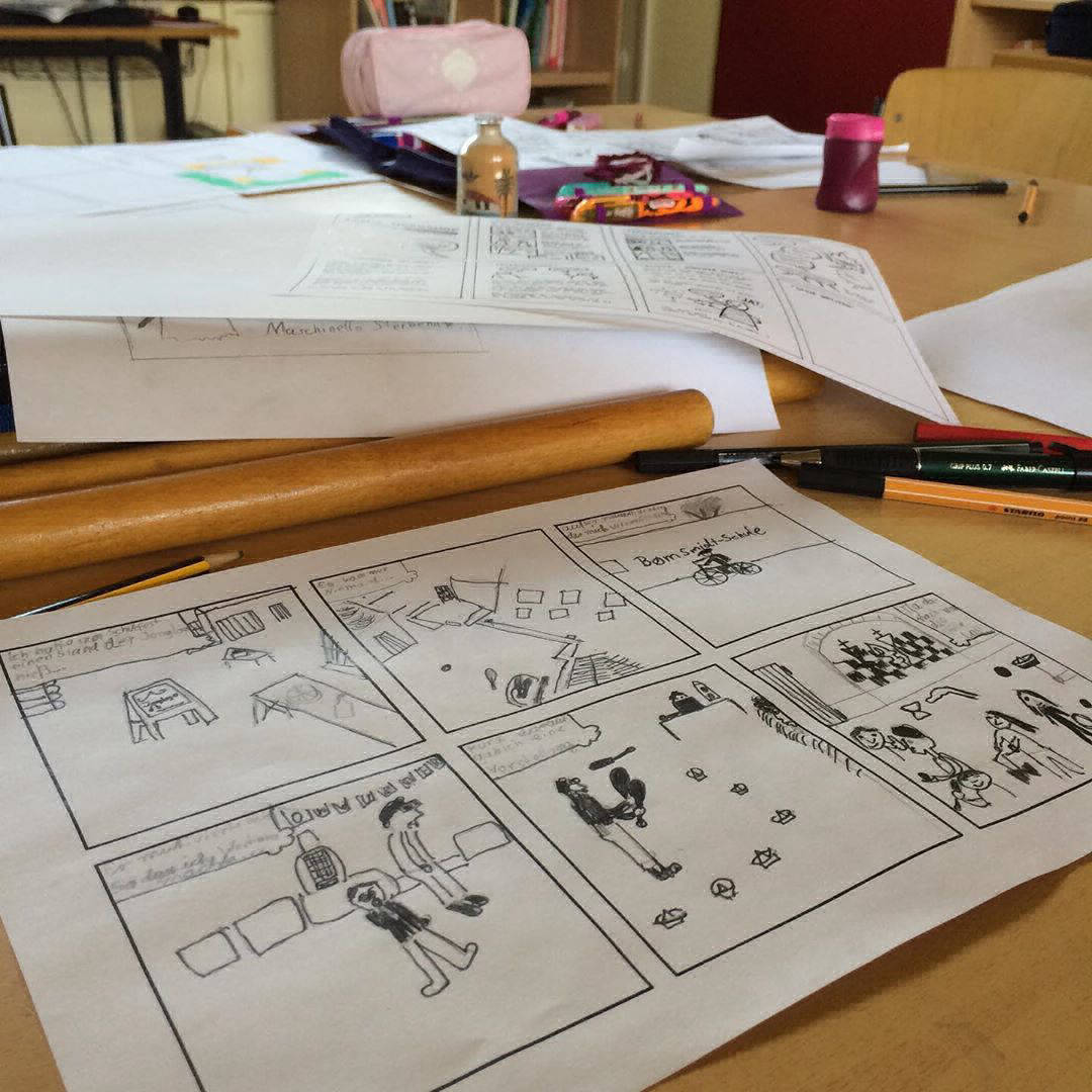 Comic Workshops